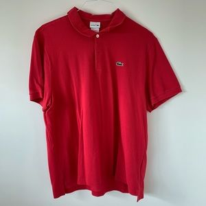 Lacoste Shirts - Men's Lacoste Polo XXL